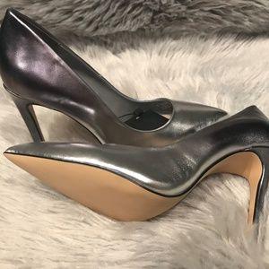 4a03e88573c Zara Shoes - ZARA SILVER OMBRE METALLIC POINTED HIGH HEELS